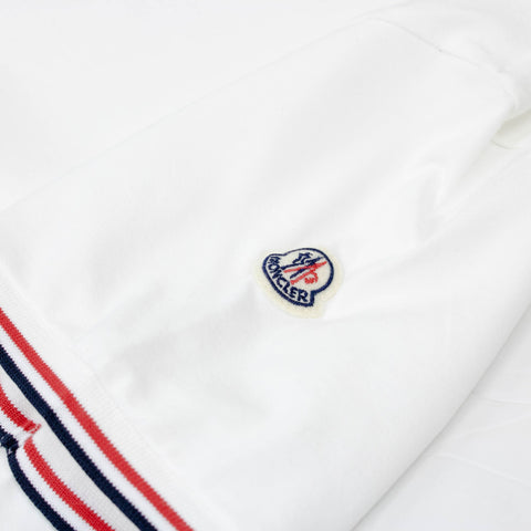 Moncler Logo Slim Fit T Shirt White