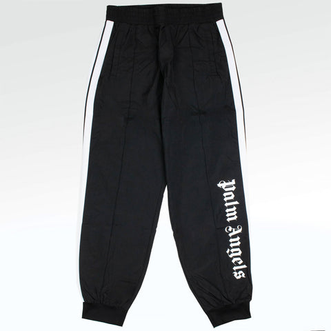 Palm Angels Oversize Logo Black Track Pants