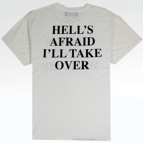 Amiri Heaven & Hell White T Shirt