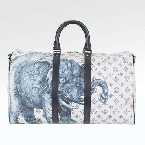 Louis Vuitton Monogram Chapman Brothers Keepall 45