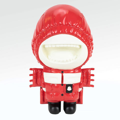 Moncler House Of Genius Bear Sculpture Red