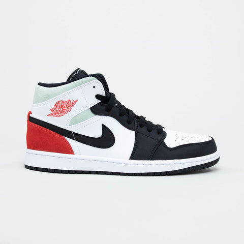 Air Jordan 1 Mid Union Black Toe 2020 Sneaker