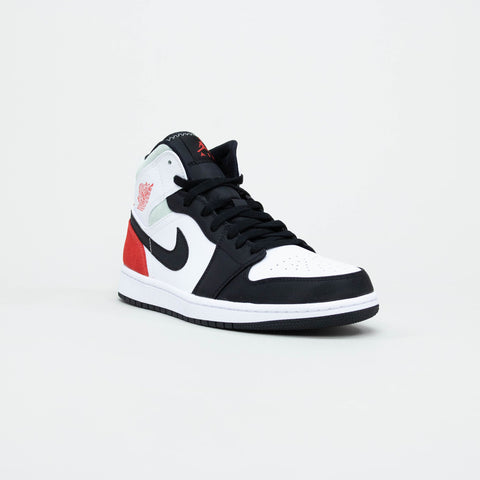 Nike Air Jordan 1 Mid Union Black Toe 2020 Sneaker