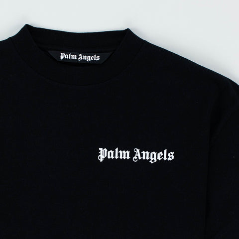 Palm Angels Logo Basic Black T Shirt
