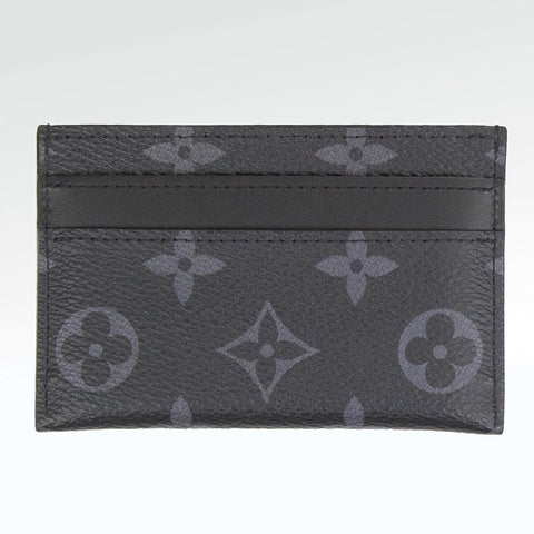 Louis Vuitton Porte Carte Double Monogram Eclipse Card Holder