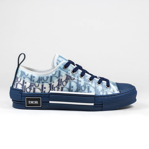 Dior B23 Dior Oblique Low Blue Sneaker