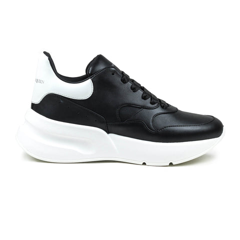Alexander Mcqueen Oversized Black White Runner