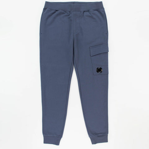 CP Company Steel Blue Cotton Sweatpants