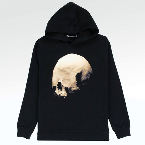 Givenchy Paris Eyeless Skull Black Hoodie