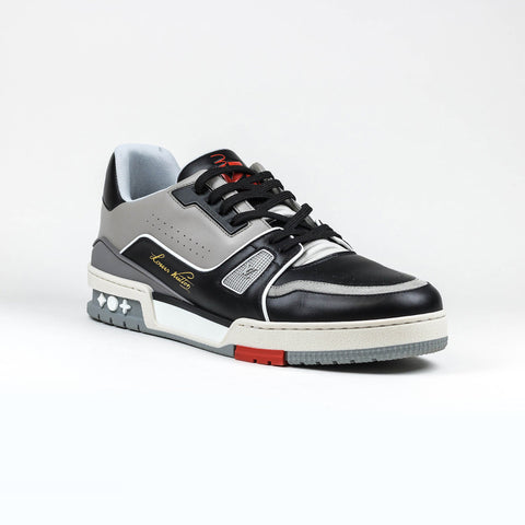 Louis Vuitton LV Black Grey Virgil Sneaker