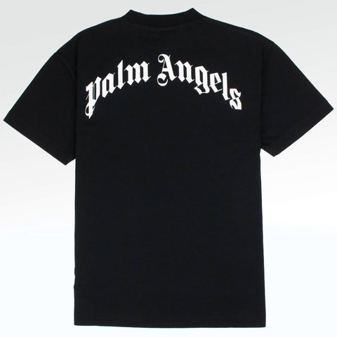 Palm Angels Kill the Bear Black Grey T Shirt