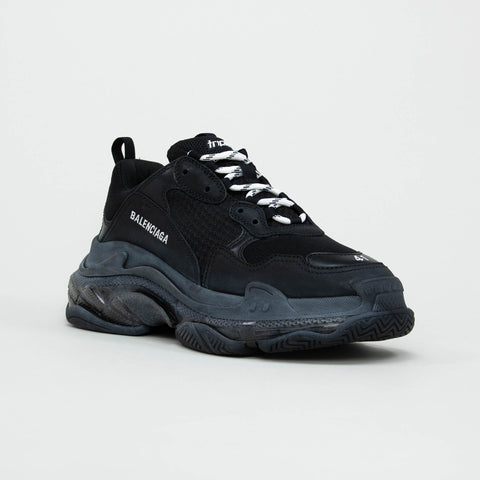 Balenciaga Triple S Sneaker Black Clear Sole