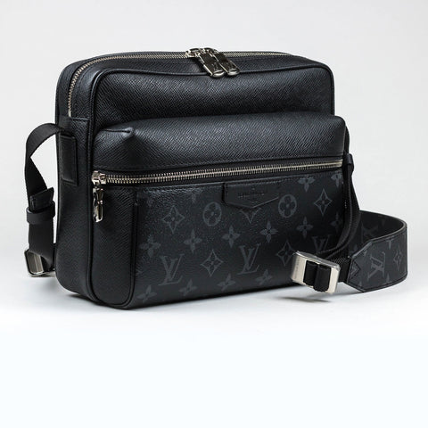 Louis Vuitton Monogram Eclipse Outdoor Messenger Bag PM