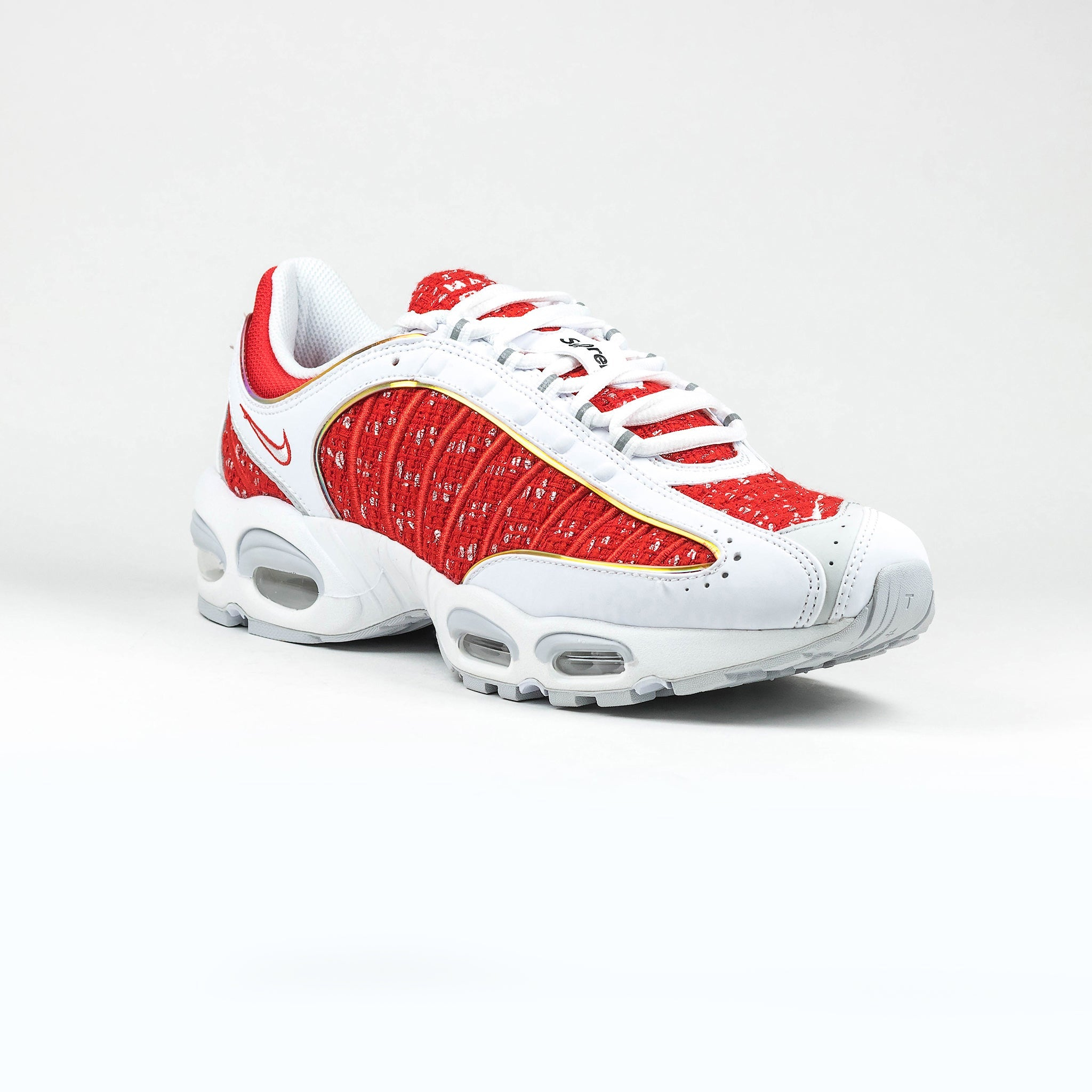 buy online 5097a 3c35b Nike x Supreme Air Max Tailwind 4 White Red