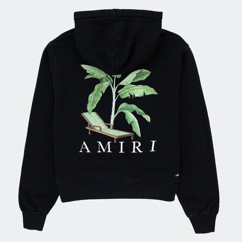 Amiri Banana Tree Graphic Black hoodie