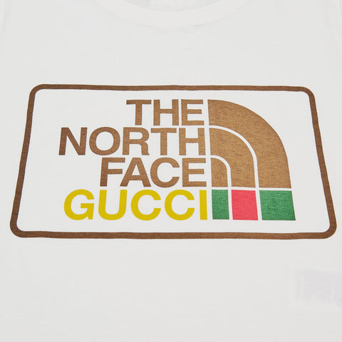 Gucci x The North Face Cream T Shirt