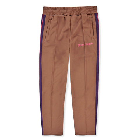 Palm Angels Brown Striped Track Pants