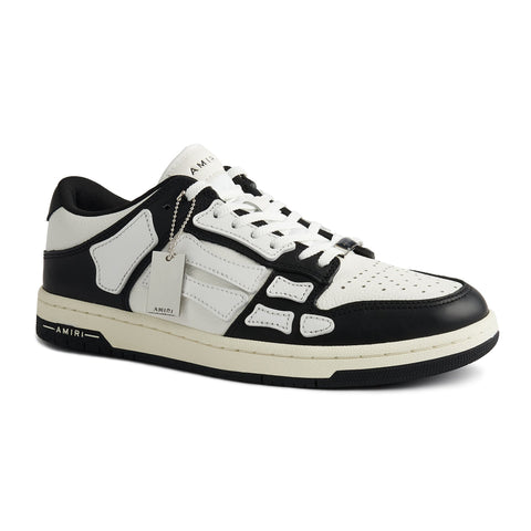 Amiri Skeleton Black Low Top Sneaker