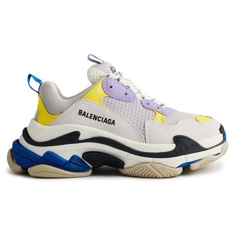 Balenciaga Triple S Sneaker Purple White