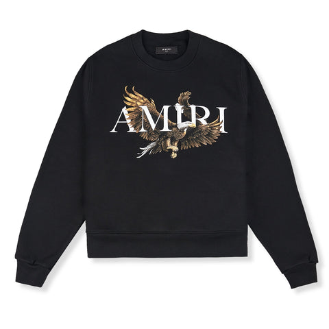 Amiri Eagle Black Sweatshirt