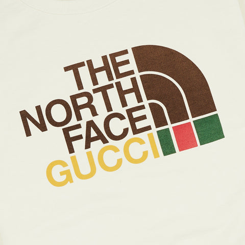Gucci x The North Face Beige Sweatshirt