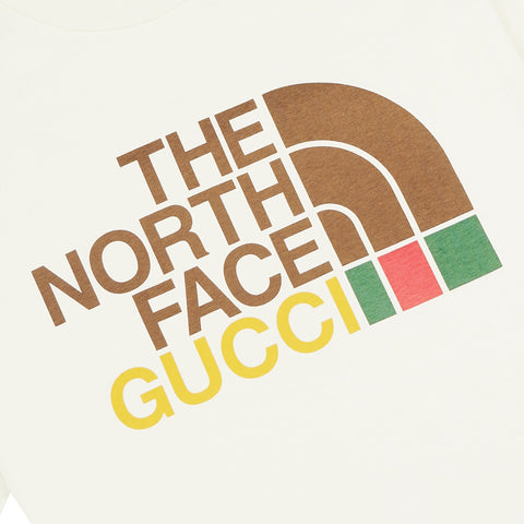 Gucci x The North Face Beige T Shirt