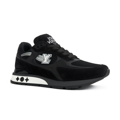 Louis Vuitton Run Away Black Silver Comet Sneaker