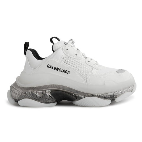 Balenciaga Triple S Sneaker White/Black Clear Sole