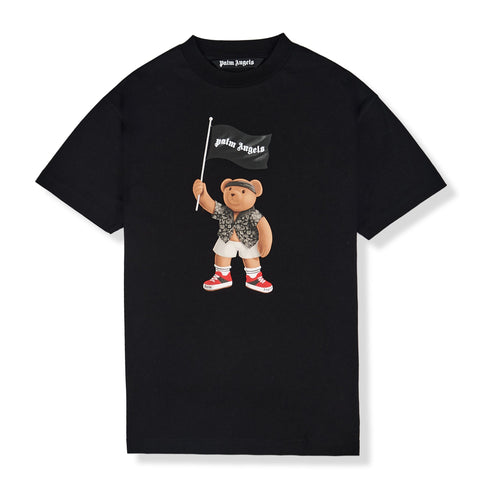 Palm Angels Pirate Bear Black T Shirt