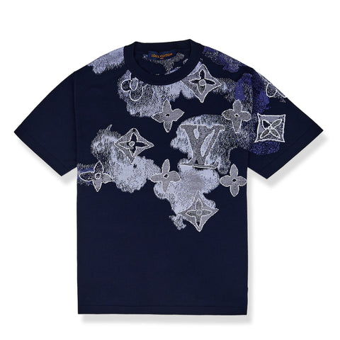 Louis Vuitton Watercolour Blue T Shirt