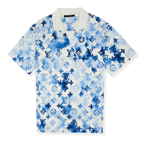 Louis Vuitton Ink Watercolour Monogram Polo Shirt