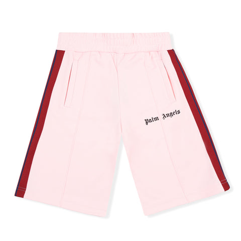 Palm Angels Pink Striped Track Shorts