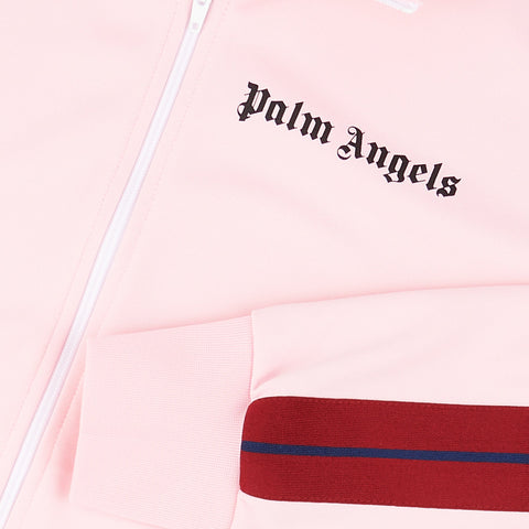 Palm Angels Pink Striped Track Jacket