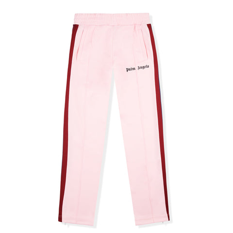 Palm Angels Pink Striped Track Pants