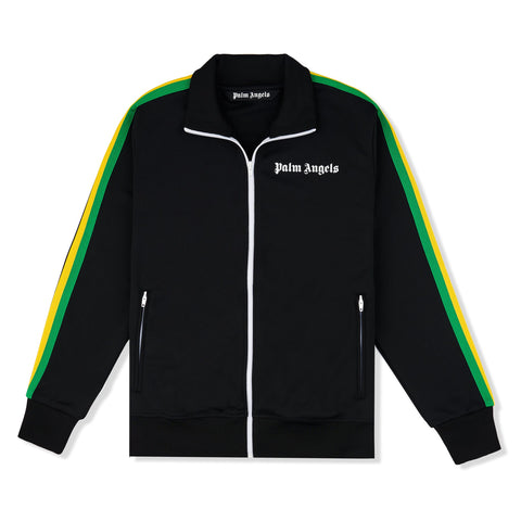 Palm Angels Exodus Striped Black Track Jacket
