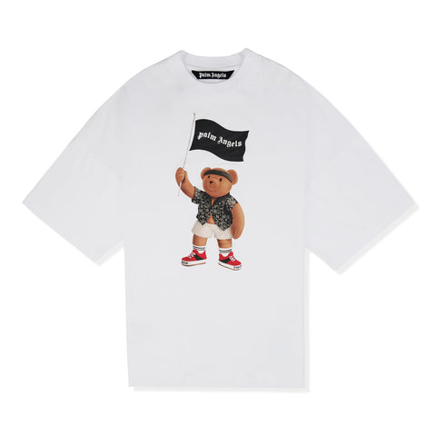 Palm Angels Pirate Bear White T Shirt