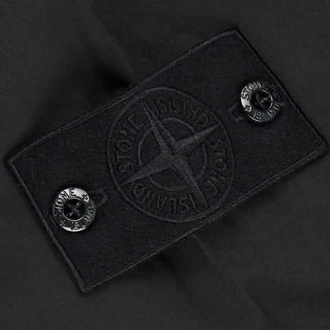 Stone Island Ghost Black Cargo Trousers