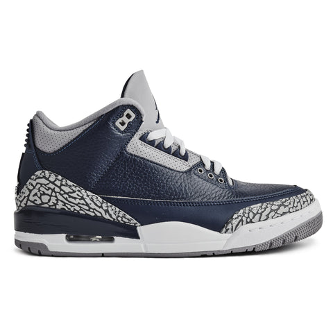 Air Jordan 3 Retro Georgetown Midnight Blue (2021)