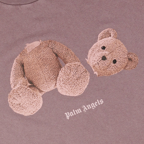 Palm Angels Kill the Bear Purple T Shirt