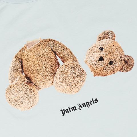 Palm Angels Kill the Bear Sky Blue T Shirt