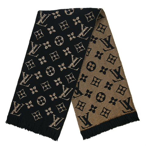 Louis Vuitton Monogram Logomania Jungle Brown Scarf