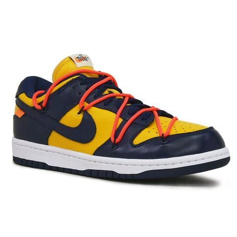 Nike x Off White Dunk University Gold Midnight Navy