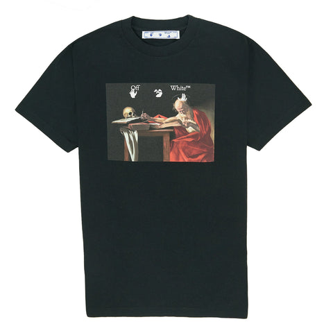 Off White Caravaggio Black T Shirt