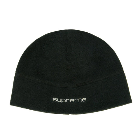 Supreme Polartec Black Beanie