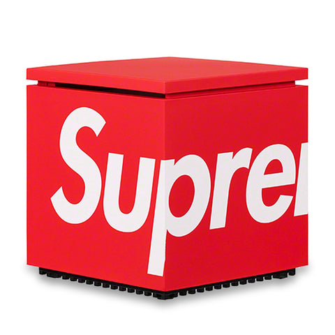 Image of Supreme Cini&Nils Cuboluce Red Table Lamp