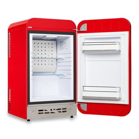 Image of Supreme x Smeg Red Mini Refrigerator