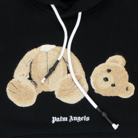 Palm Angels Kill The Bear Black Hoodie