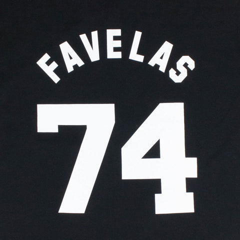 Givenchy Paris Favelas 74 Black T Shirt