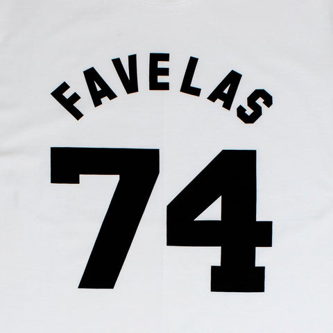 Givenchy Paris Favelas 74 White T Shirt