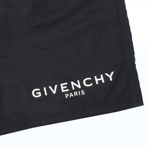 Givenchy Paris Small Logo Shorts Black